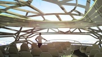 L'Airbus del 2050? Sarà trasparente ed ecologico