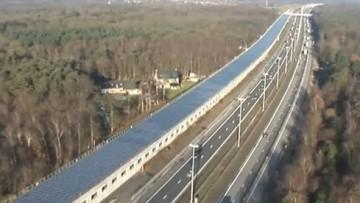 """Apre in Belgio il primo tunnel """"solare"""" europeo"""