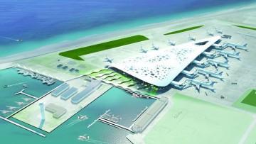 Un nuovo aeroporto sostenibile per le Maldive