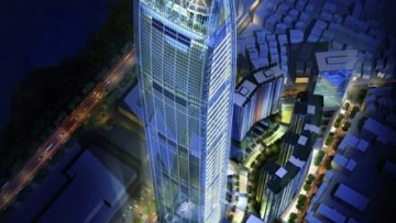Completata la Kingkey Tower a Shenzen