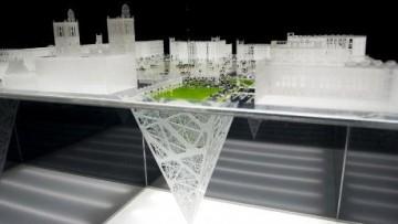 Earthscraper: la piramide inversa di Citta' del Messico