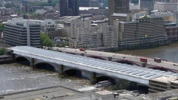 Iniziati i lavori per la solarizzazione della stazione di Blackfriars a Londra