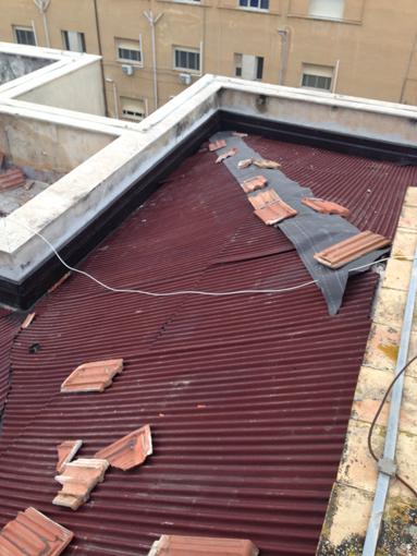 Le lastre da sottocopertura onduline per la for Inquadratura del tetto del padiglione