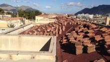 Le lastre da sottocopertura Onduline per la ristrutturazione di un ospedale a Palermo
