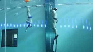 Y-40, la piscina piu' profonda al mondo: le infrastrutture elettriche e digitali