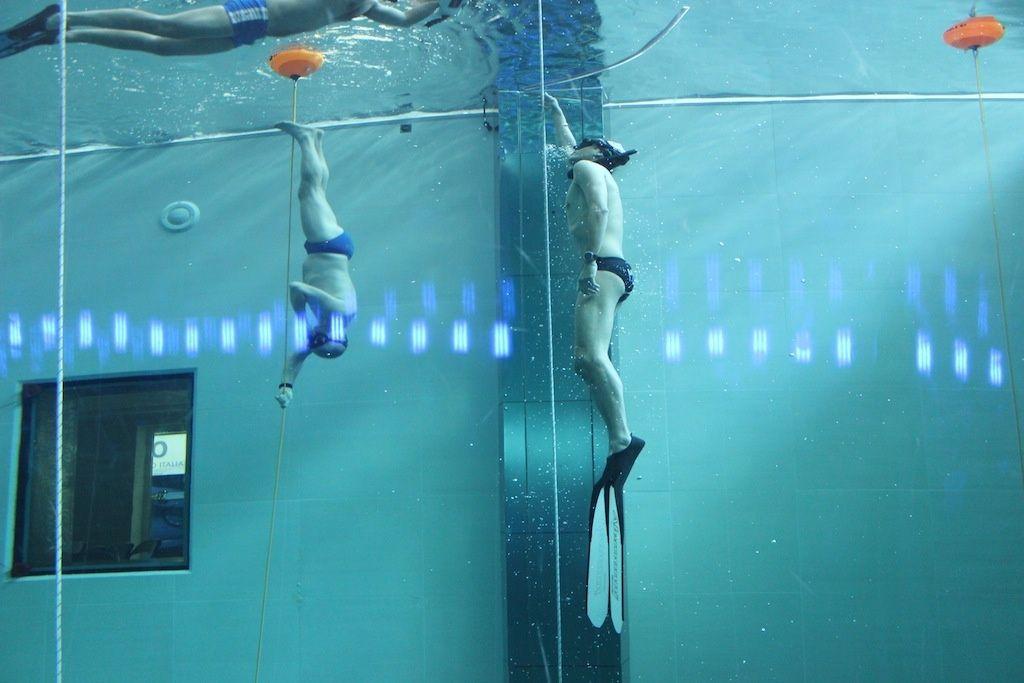 Y 40 la piscina piu 39 profonda al mondo le infrastrutture for Y 40 piscina