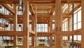 Legno in edilizia: la struttura a telaio di Kengo Kuma per Berkeley