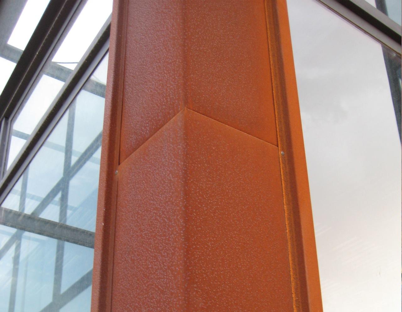 Lacciaio per le facciate metalliche: dal Cor-Ten allinox ...