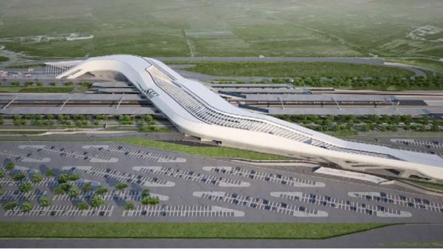 Stazione dell'alta velocità di Afragola: il cantiere riparte