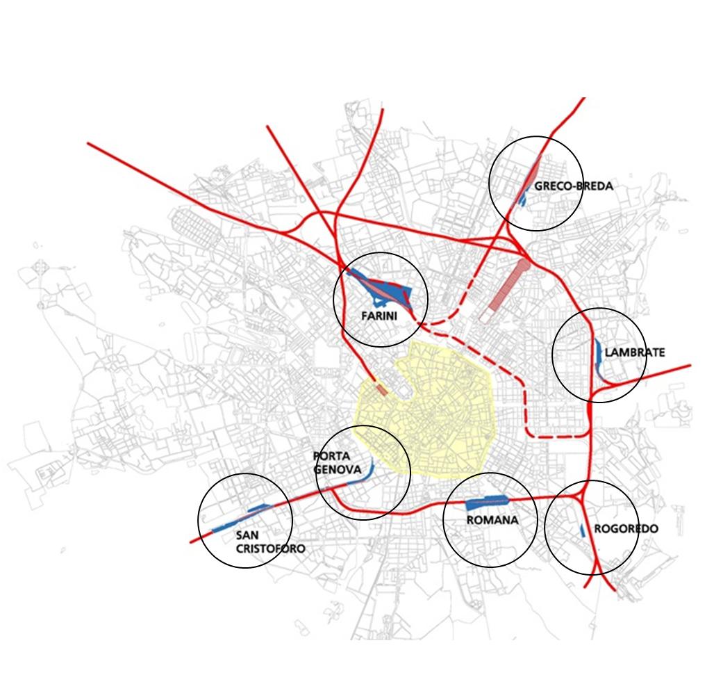 La mappa degli scali interessati dall'operazione
