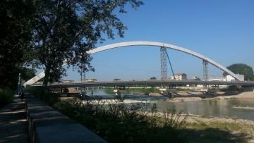 Ponte Meier ad Alessandria: a che punto è il cantiere?