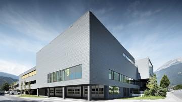 Facciate metalliche: alluminio per il centro di formazione AZW di Innsbruck
