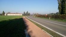 Pavimentazioni stradali drenanti: una pista ciclo-pedonale nel piacentino