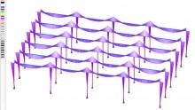 Il software DOLMEN per l'adeguamento sismico di capannoni industriali prefabbricati