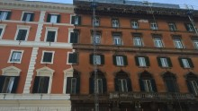 Risanamento facciate: un nuovo volto per Palazzo Tenerani a Roma