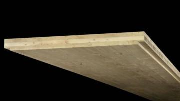 Legno strutturale: come è fatto un pannello XLAM