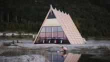 La sauna temporanea più grande del mondo