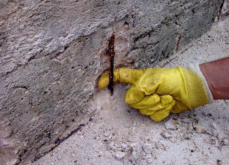 Corrosione dei ferri nel calcestruzzo armato: le cause