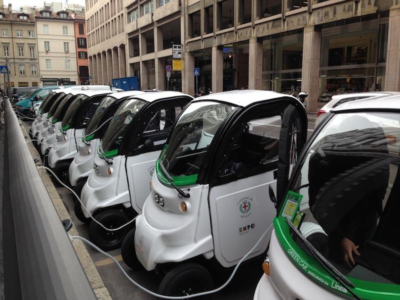 mobilità elettrica milano