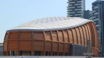 L'Unicredit Pavilion a Milano: un focus sulla climatizzazione