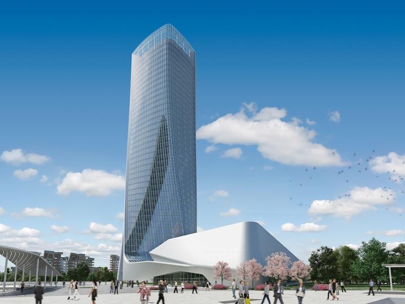 Risultati immagini per Torre Hadid a Milano