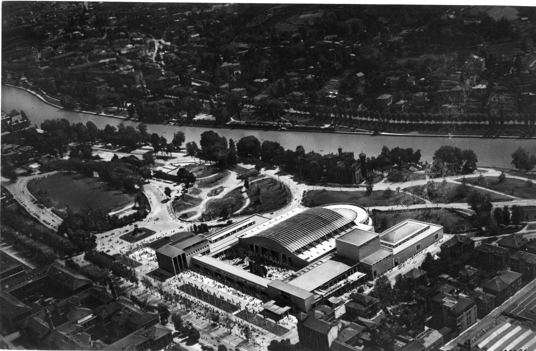 Palazzo Esposizioni-1948_archivio storico fiat