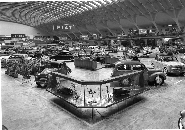 Salone Auto To-1954_archivio storico fiat