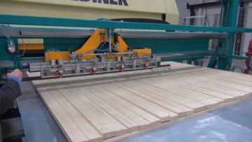 Come si producono i pannelli in legno strutturale XLAM