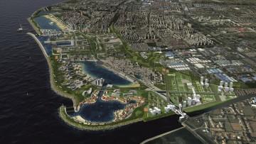 Urbanistica in Cina: il waterfront di Jinshan parlerà italiano