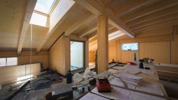 Come costruire una struttura portante scatolare con i pannelli XLAM