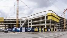 Nuova sede Lavazza a Torino di Cino Zucchi: le strutture