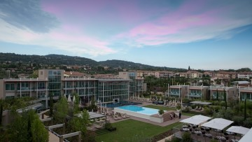 Il riscaldamento ecosostenibile Viessmann per l'Hotel Aqualux di Bardolino
