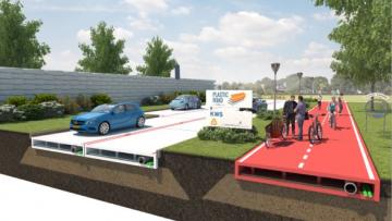 La prima strada di plastica sarà realizzata a Rotterdam