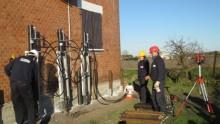 Consolidamento delle fondazioni di un edificio in muratura a Cavarzere con Systab