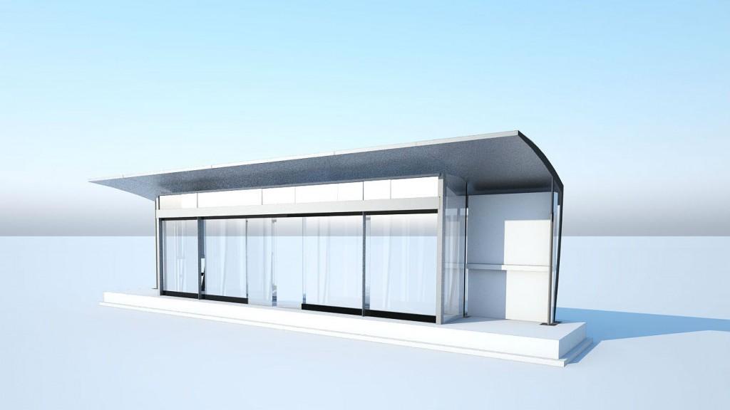 Un rendering delle stazioni che saranno realizzate a Riyadh