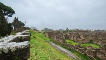 Grande Progetto Pompei: avviato restauro delle fortificazioni settentrionali
