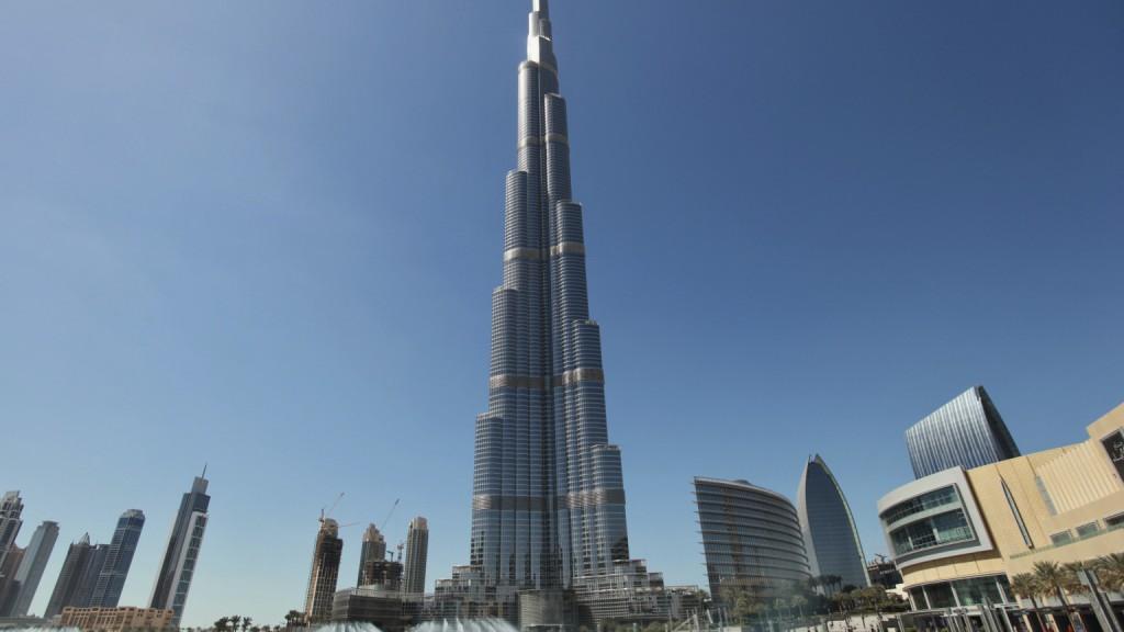 Il Burj Khalifa, il grattacielo più alto del mondo (828 metri) (fonte foto: Reuters/Mohammed Salem)