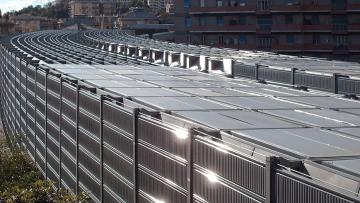 Barriere antirumore fotovoltaiche: normativa e incentivi