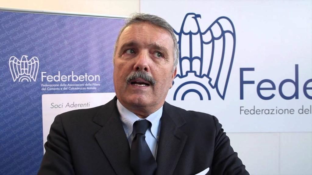 Sergio Crippa, presidente di Federbeton