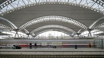 La copertura a vele della stazione ferroviaria di Leuven