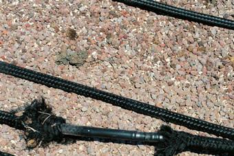 Paoli e Mazzola 5_FIG 1_Lapillo vulcanico per la falda artificiale del verde pensile (Foto Archivio Studio Tecnogreen)