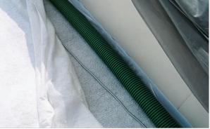 Paoli e Mazzola 7_FIG 2_Tubo di drenaggio microforato per verde pensile (Foto Archivio Studio Tecnogreen)