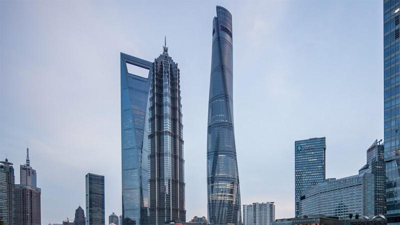 Shanghai Tower - courtesy of Gensler