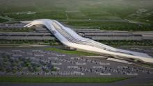 Come sarà la stazione ad alta velocità di Napoli Afragola progettata da Zaha Hadid