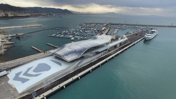 Stazione marittima di Salerno: l'ultima ostrica di Zaha Hadid per l'Italia