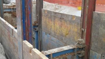 Geotecnica: la scelta del sistema di blindaggio dello scavo