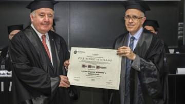 Ingegneria civile, conferita la laurea ad honorem a Dan Frangopol