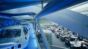 La nuova sede della BMW a Lipsia progettata da Zaha Hadid