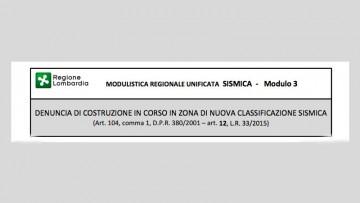 Nuove zone sismiche Lombardia: niente denuncia integrativa per gli edifici esistenti