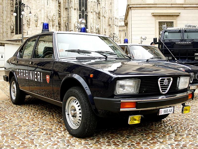 L'Alfetta 2000, anno 1981